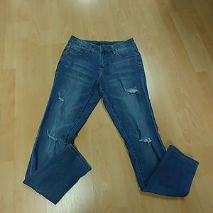 Jag Distressed Skinny Jeans
